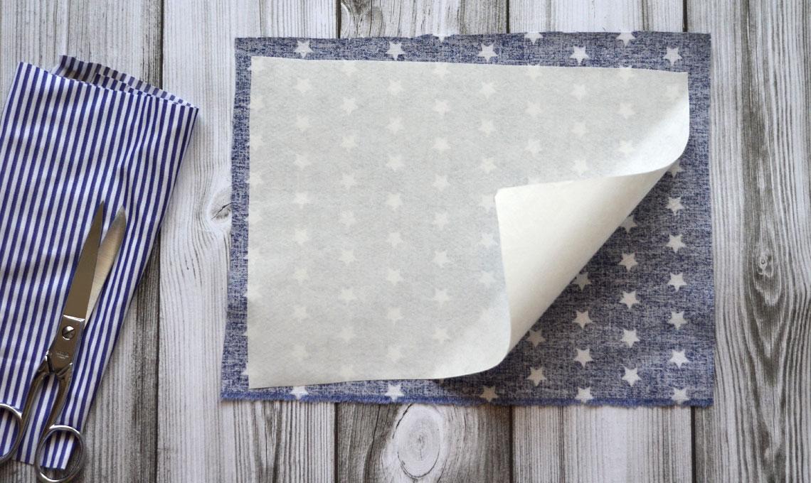 CasaFacile FRinaldi origami tessuto segnaposto fliselina