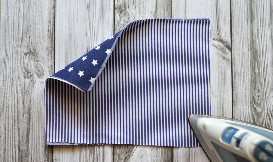CasaFacile FRinaldi origami tessuto segnaposto barchetta retro
