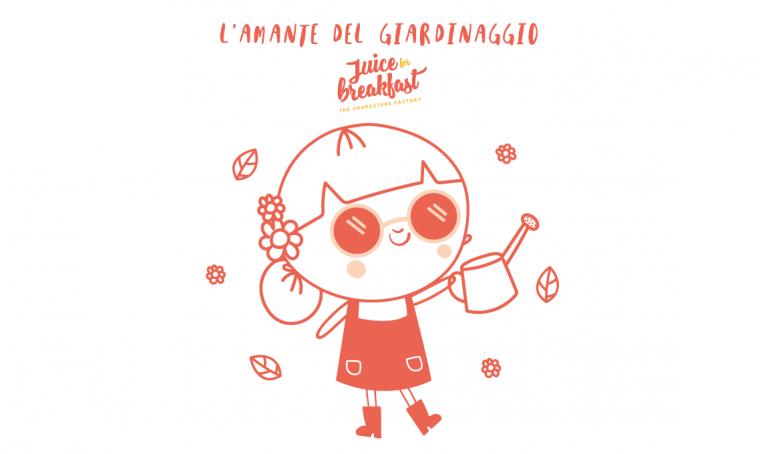 L'amante del giardinaggio e il suo giardino comodo