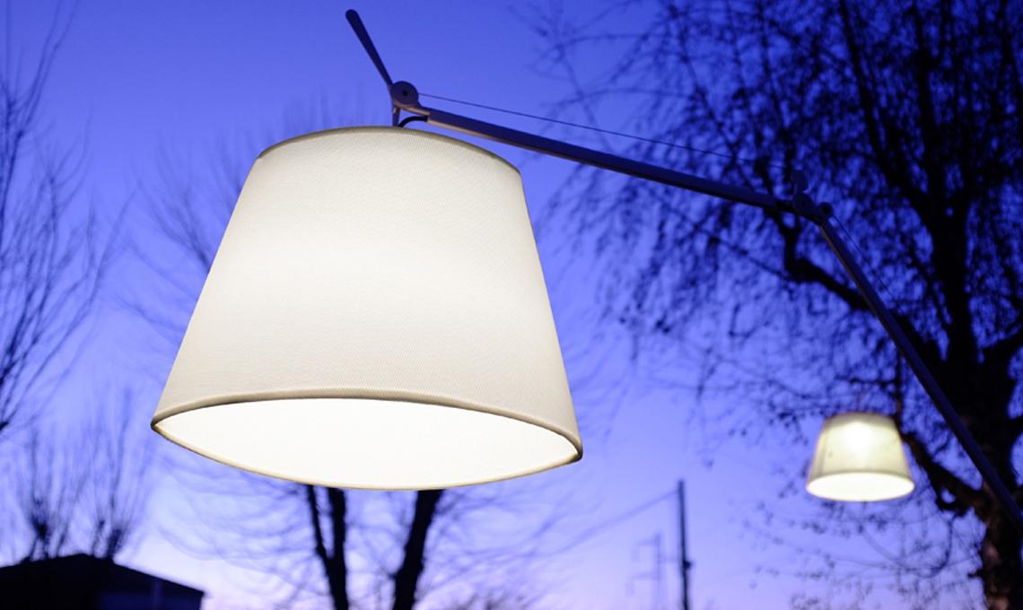 CasaFacile GBrusemini luce outdoor Tolomeo
