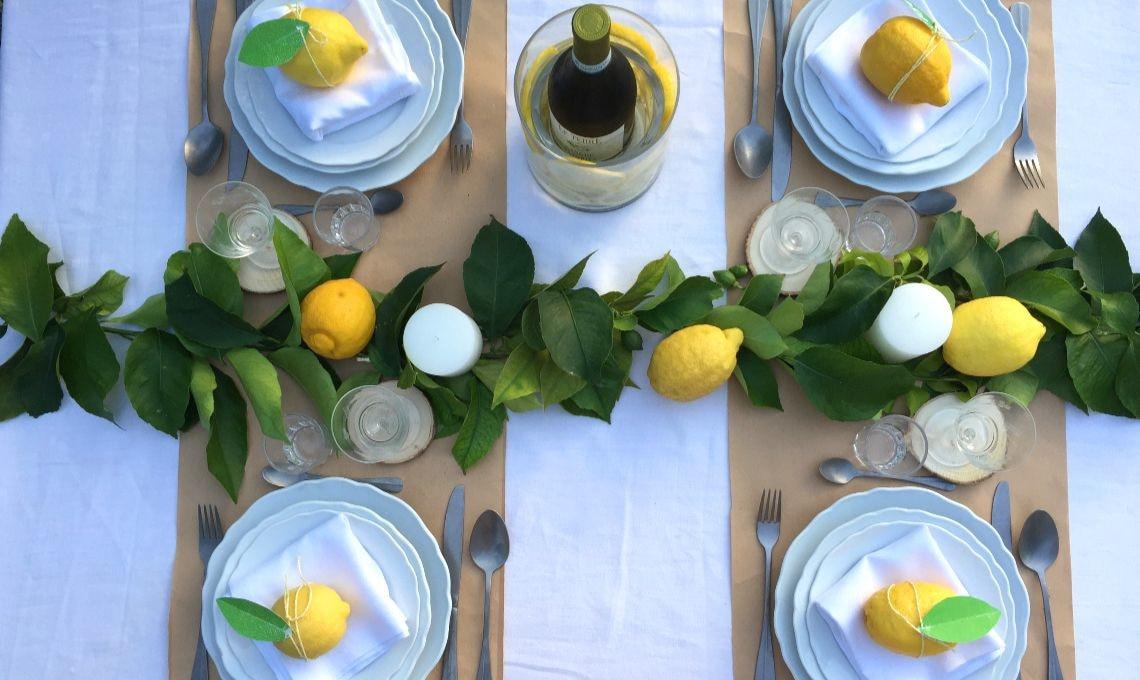 CasaFacile KIGoccione tavola limoni