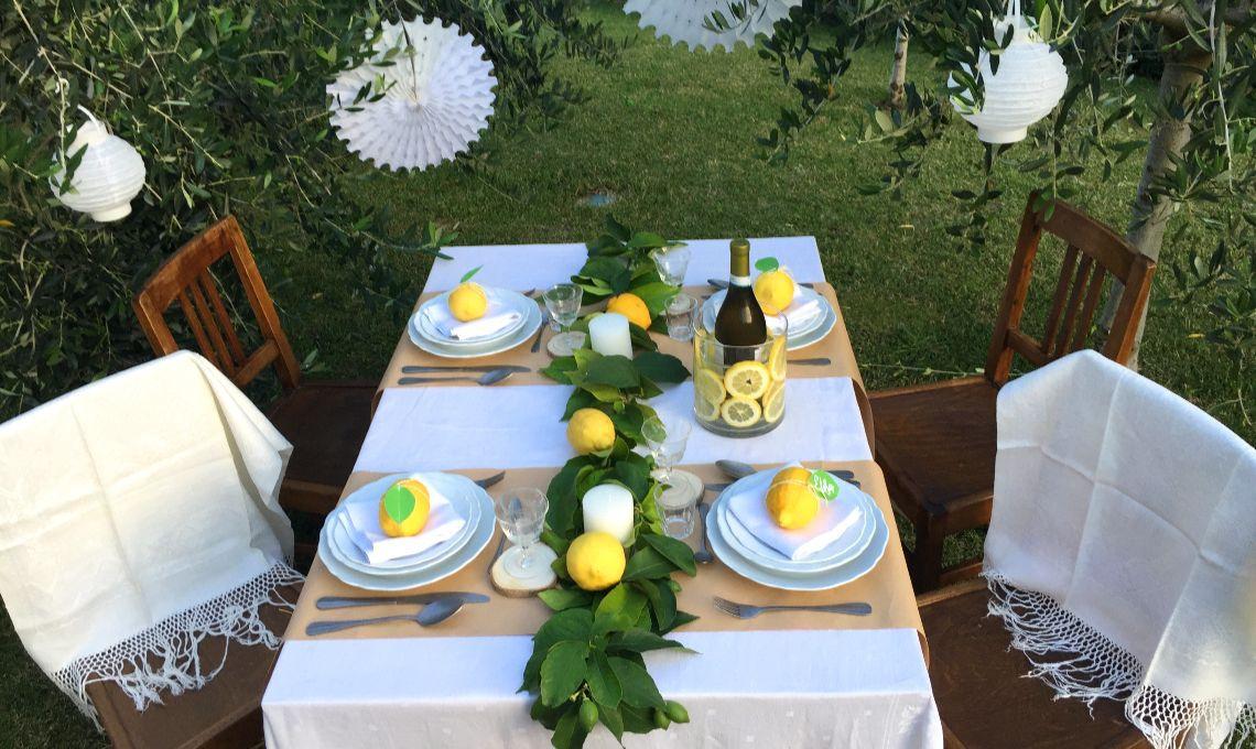 CasaFacile KIGoccione tavola limoni insieme