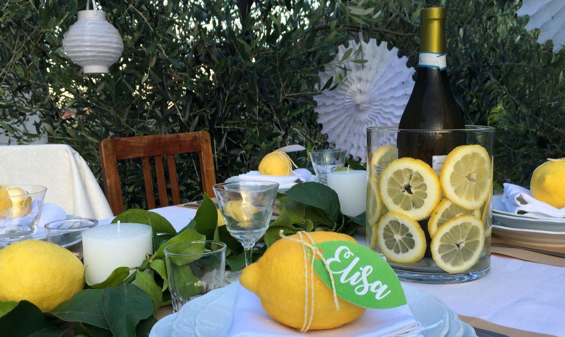 CasaFacile KIGoccione tavola limoni vista