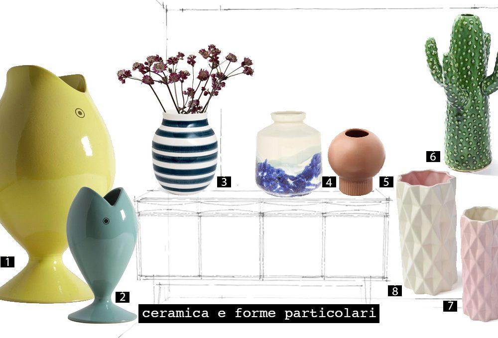I vasi, nuovi oggetti del desiderio per l'home décor