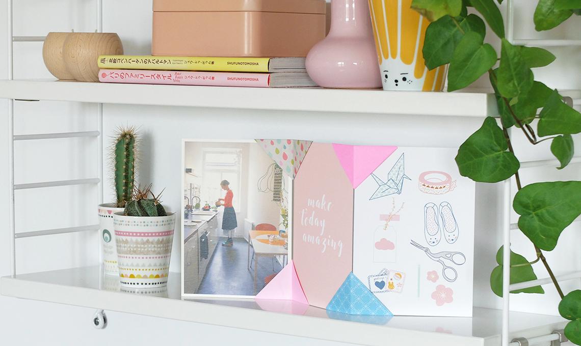 CasaFacile SSebastiani portafoto origami esempio