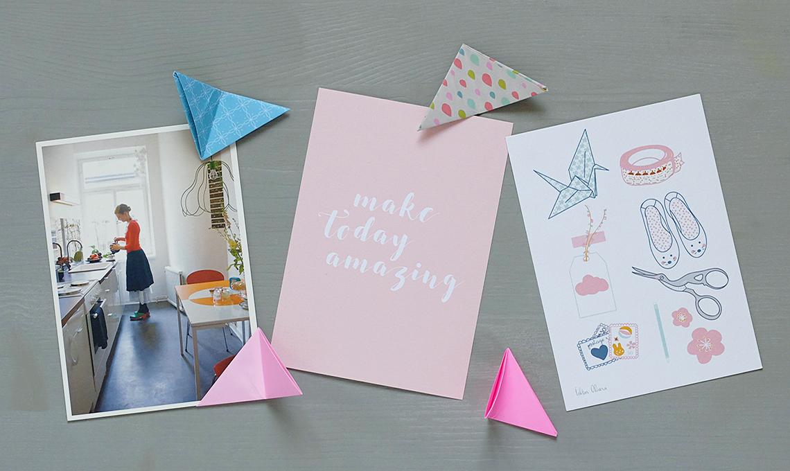 CasaFacile SSebastiani portafoto origami composizione