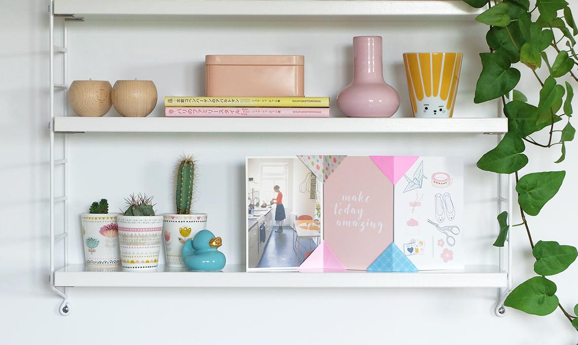 CasaFacile SSebastiani portafoto origami mensola