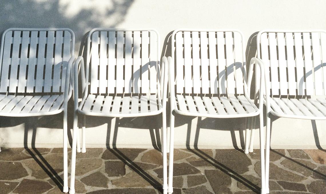 CasaFacile SFilippi recuperare sedie bianche