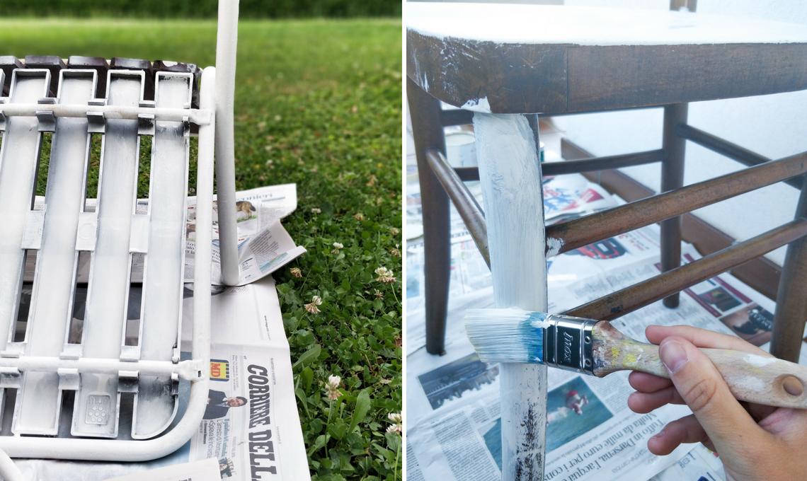 CasaFacile SFilippi recuperare sedie pitturare
