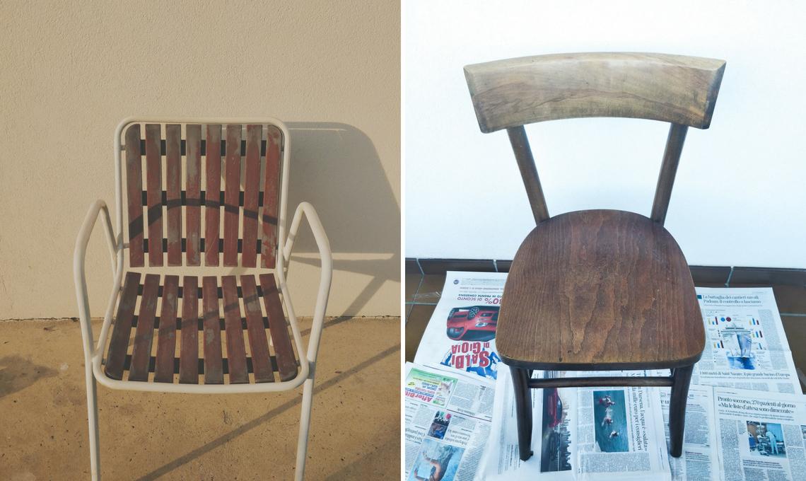 CasaFacile SFilippi recuperare sedie vintage