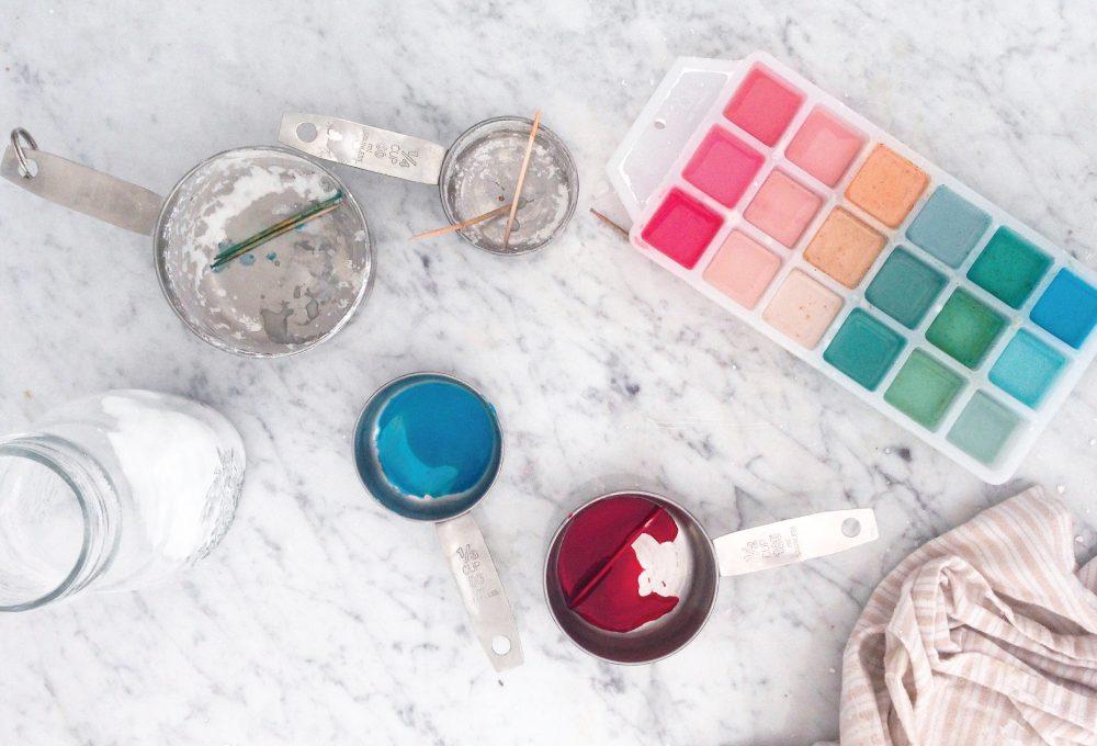 Come realizzare gli acquerelli fatti in casa