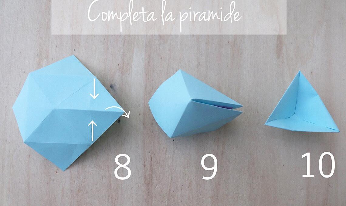 Casafacile RPini origami triangolo stella tutorial fine