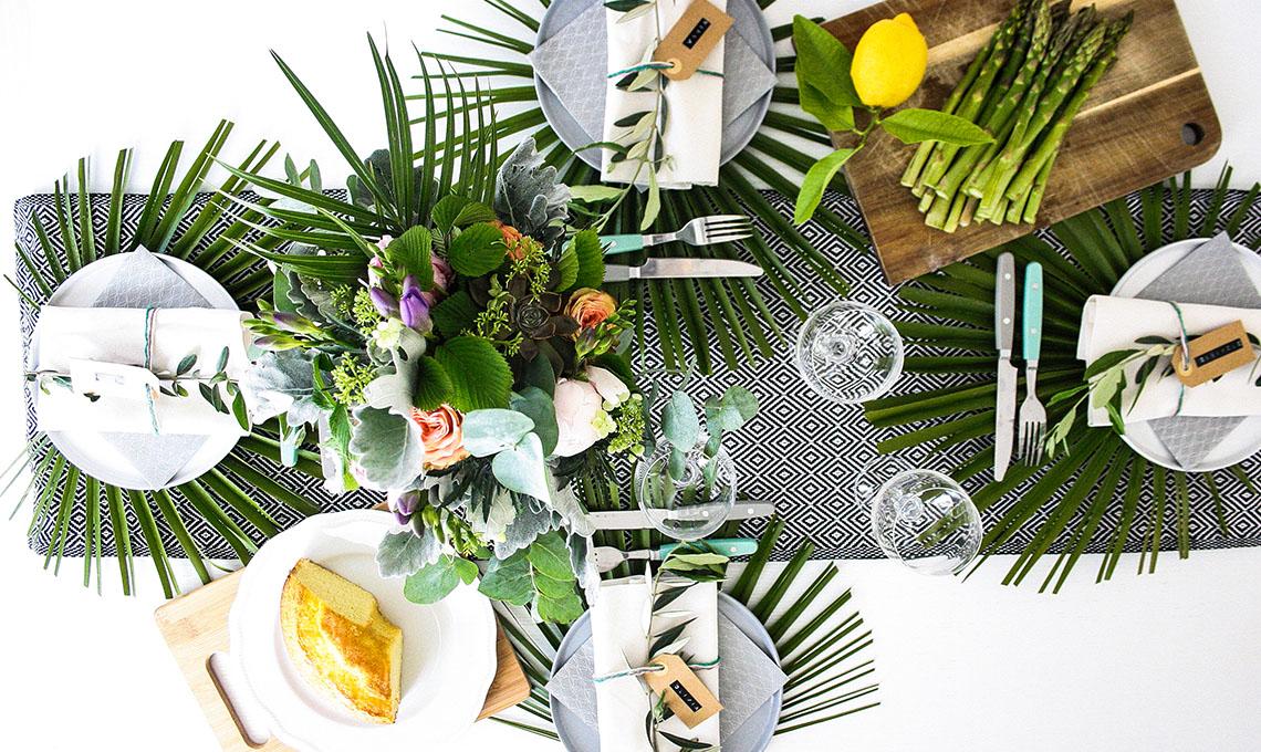 CasaFacile VZorzi tavola estiva fiori