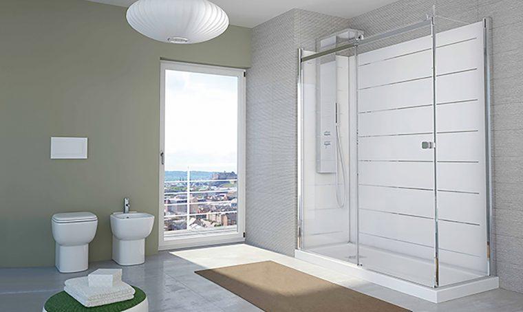 Da vasca a doccia XL di design in sole 8 ore