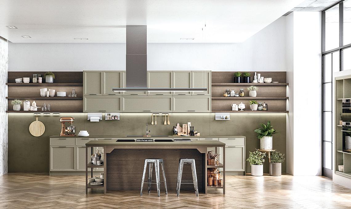 La cucina classica con elementi contemporanei e minimal - CASAfacile