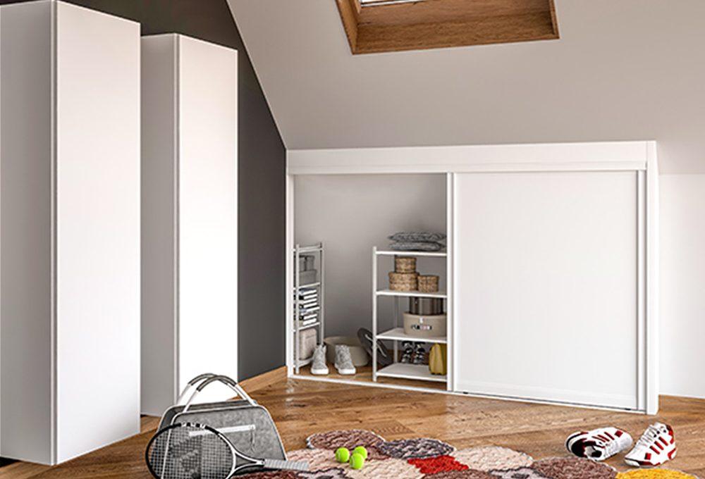 Come sfruttare gli spazi bassi della mansarda