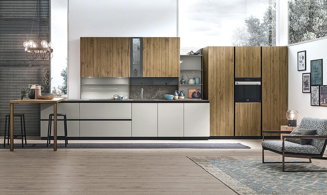 Come arredare una cucina stretta e lunga casafacile for Arredare cucina piccola e stretta