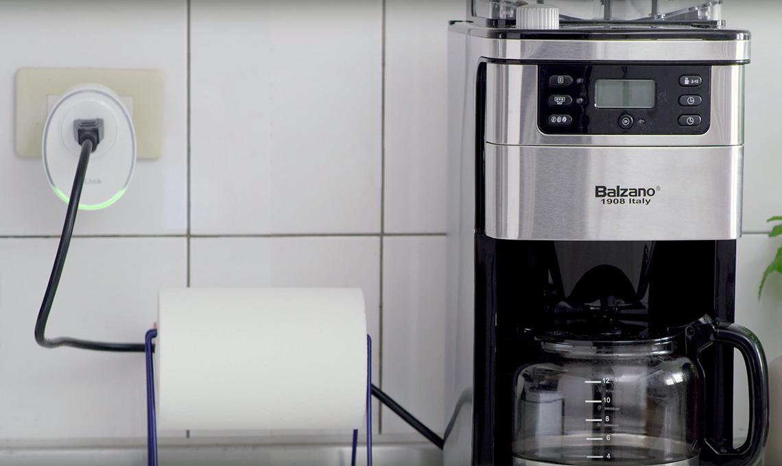 casafacile-DLink-macchina caffè-smart plug