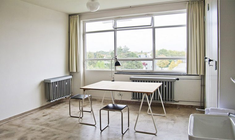 Dormire una notte al Bauhaus di Dessau