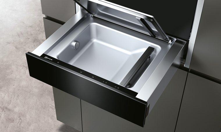 Conservazione dei cibi: il cassetto per il sottovuoto