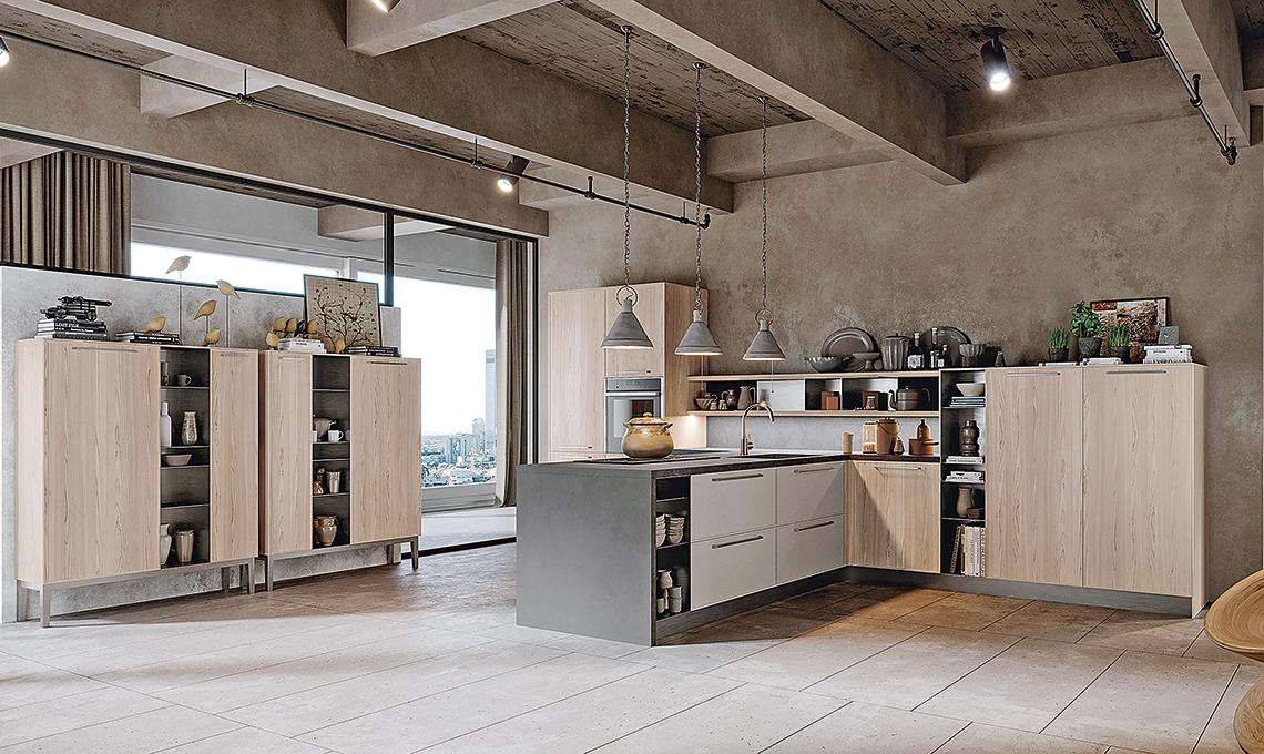 Arredare una cucina con soffitto basso casafacile