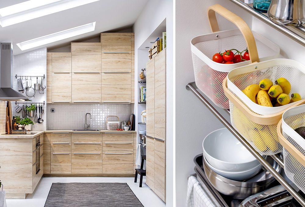 Mansarda: ottimizza gli spazi in cucina