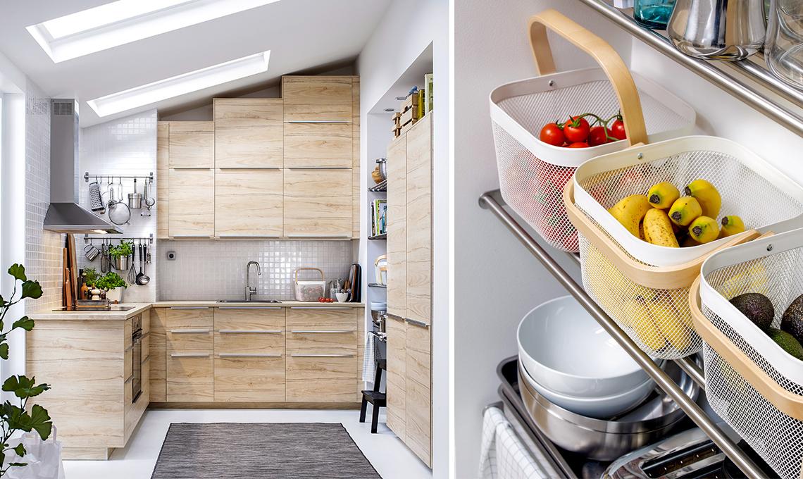 Mansarda: ottimizza gli spazi in cucina - CASAfacile