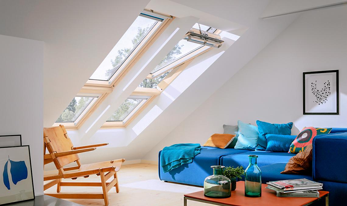 Finestre da tetto per illuminare la mansarda casafacile
