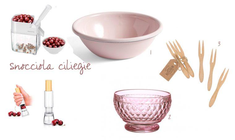 Piccoli utensili, ciotole e accessori per preparare la macedonia perfetta