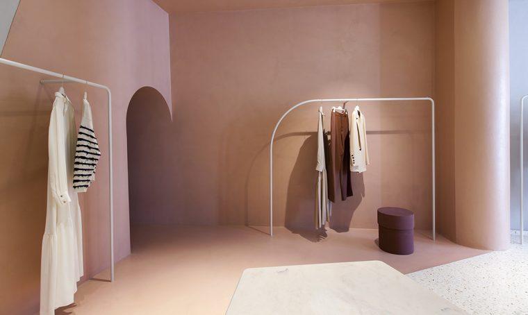 Studiopepe progetta la boutique Alysi di Milano