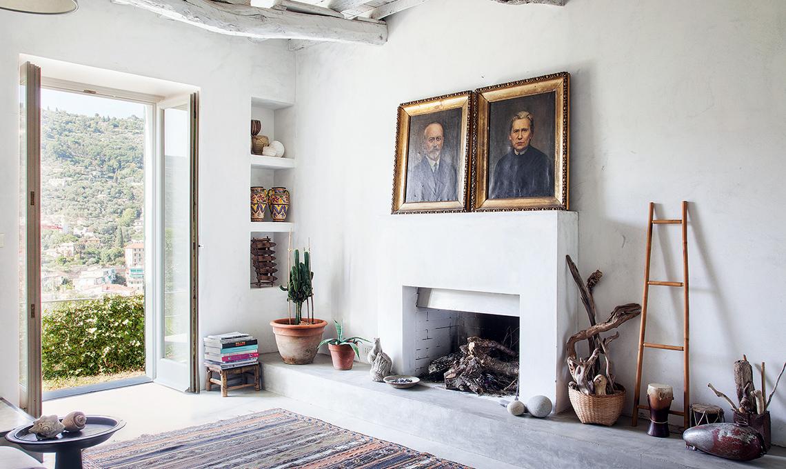 Arredamento Di Una Casa Di Campagna : Arredi di famiglia tanto bianco e la casa contadina si trasforma