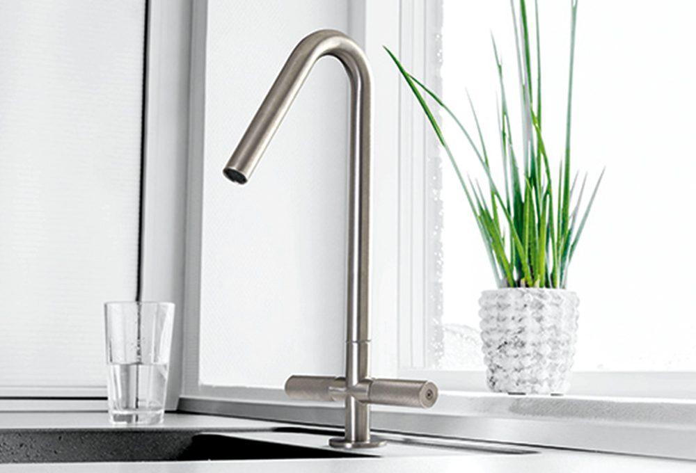 Scegli il rubinetto per il lavello della cucina