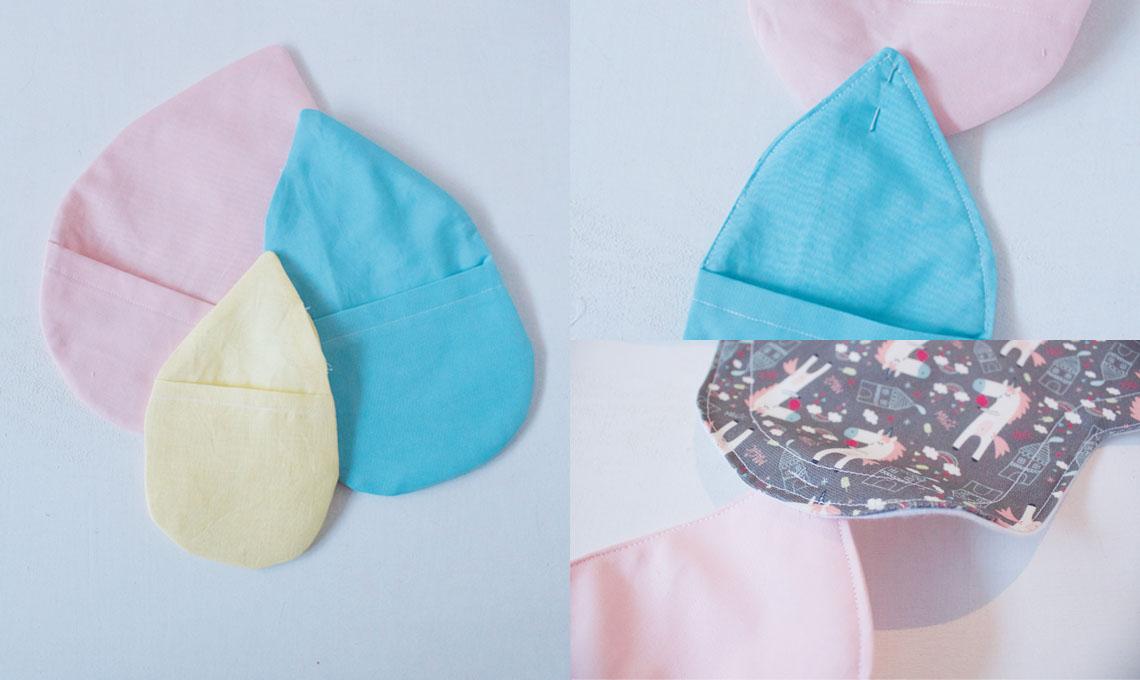 CasaFacile CBattello sewing pad gocce cucite