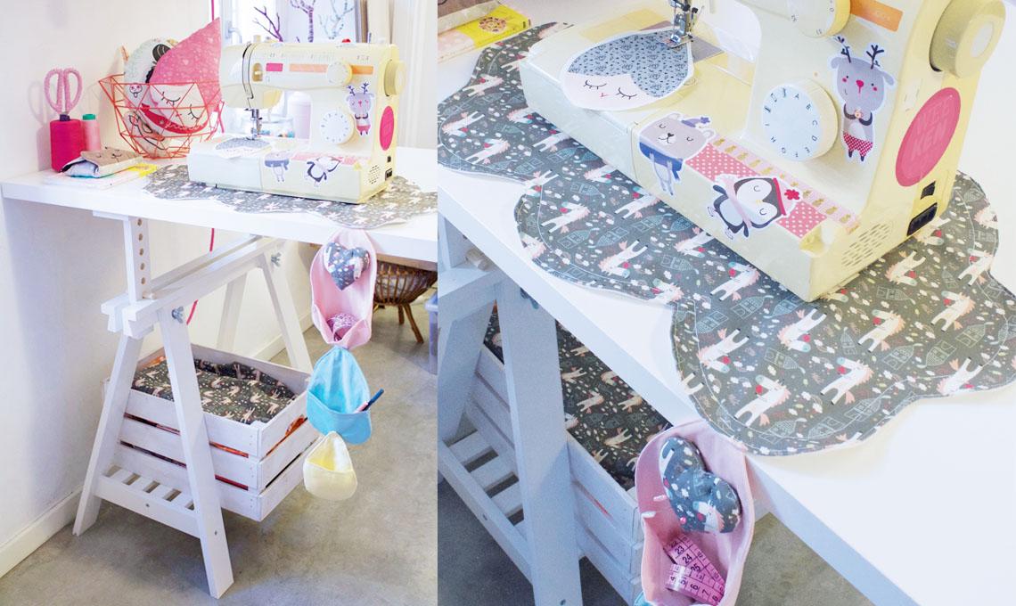 Idee Creative Cucito : Come realizzare un tappetino da cucito accessoriato casafacile
