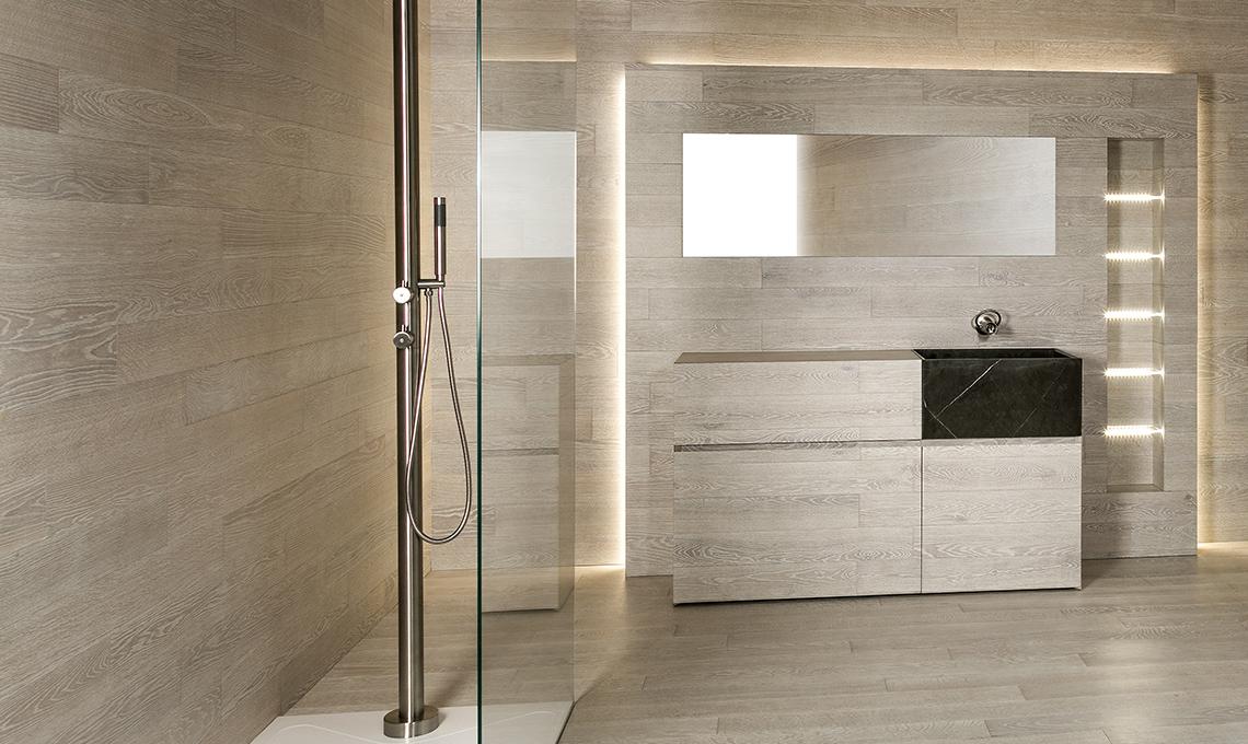 Parquet in bagno e in cucina - CASAfacile