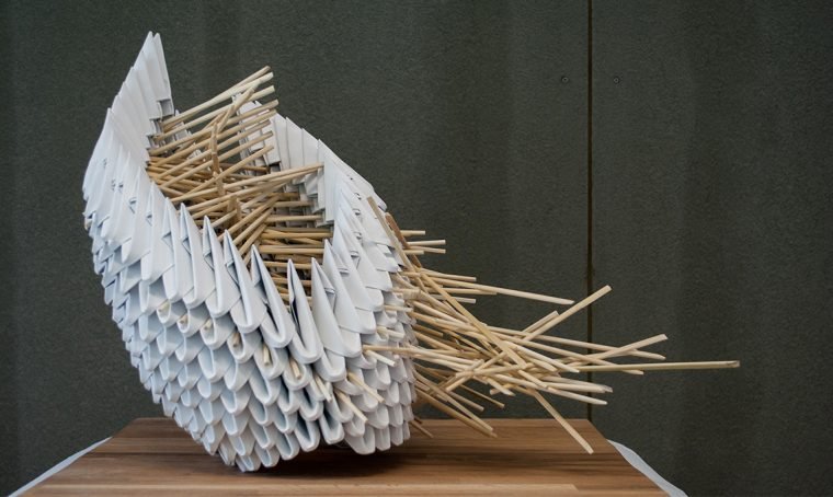 Lucca: Biennale del paper art design
