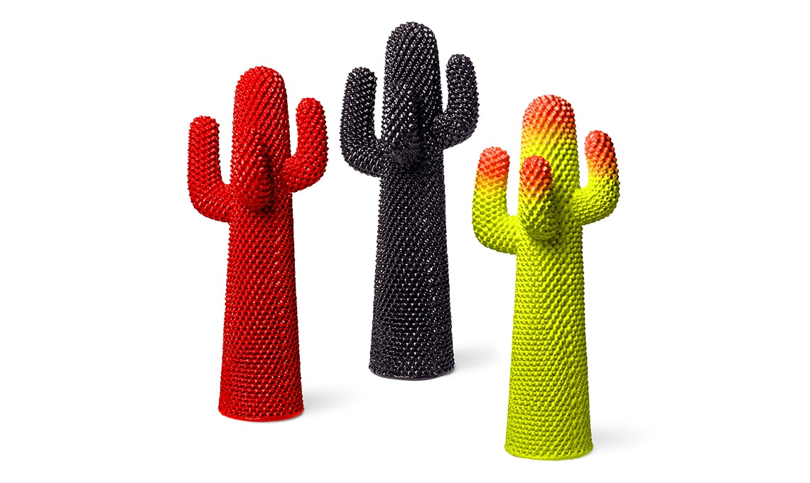 Attaccapanni Cactus Prezzo.Icone Del Design Appendiabiti Cactus Di Gufram Casafacile