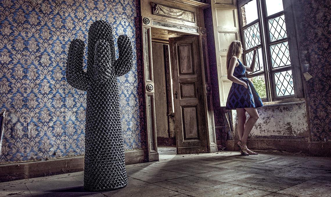 Icone del design appendiabiti cactus di gufram casafacile