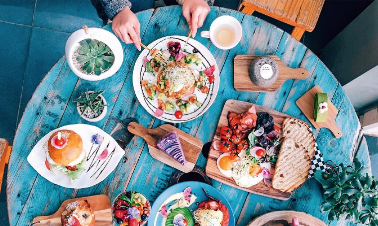 Instagram: i trucchi per scattare le foto al cibo