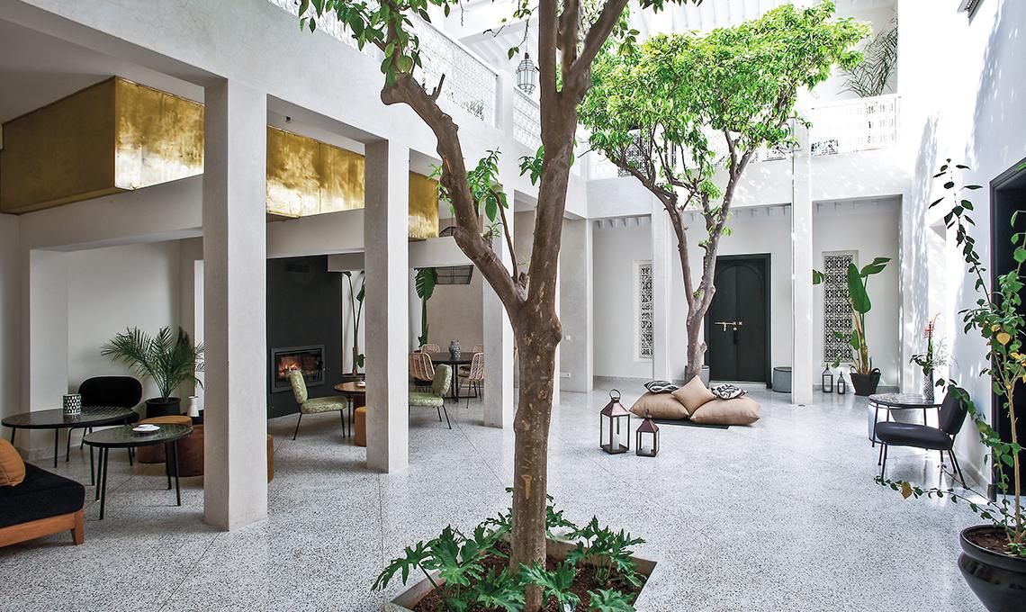Handmade sostenibilità e stile in un riad a marrakech casafacile