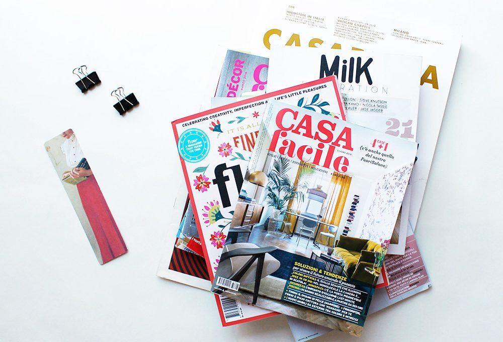 Come tenere in ordine le tue riviste preferite