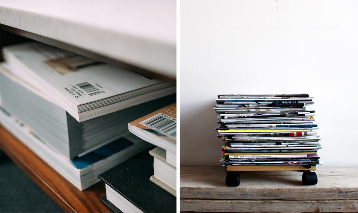 Come tenere in ordine le tue riviste preferite casafacile for Giornali arredamento casa