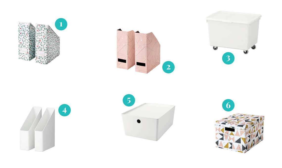 Ikea Accessori Per Ufficio.Come Tenere In Ordine Le Tue Riviste Preferite Casafacile