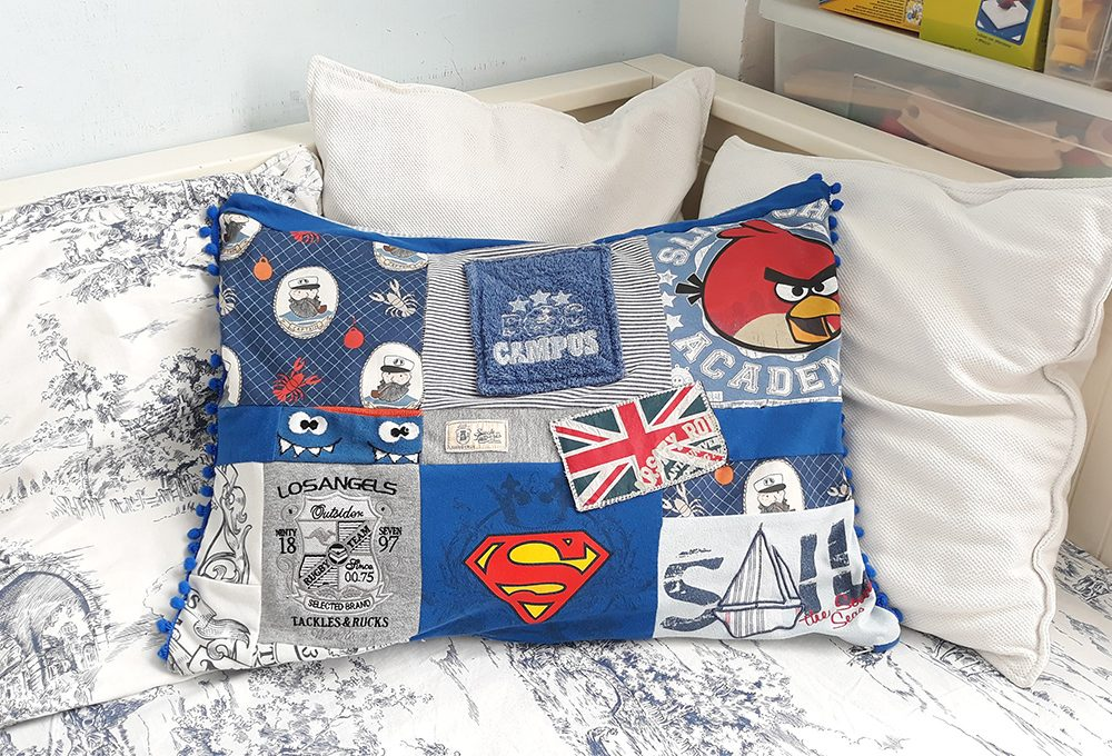 Cucito creativo: il cuscino degli affetti