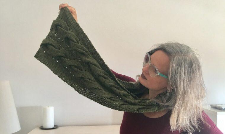 A casa di Emma Fassio, knitting designer ad alta dose di creatività