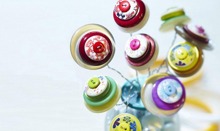 5 idee 'fai da te' con i bottoni