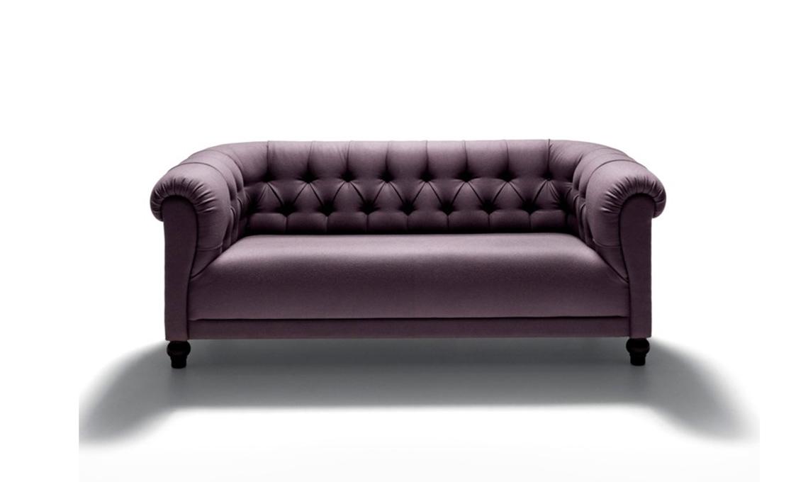 Atmosfere neoclassiche con i divani in stile inglese - CASAfacile