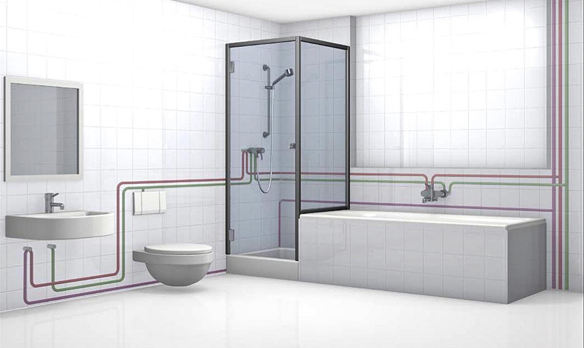 Evita la stagnazione dellacqua nella rete domestica con limpianto