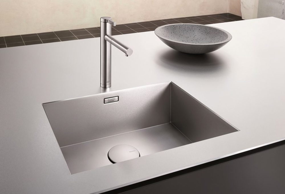 Cucina: lavelli integrati nel top
