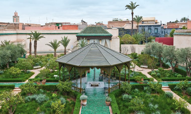 Arredi outdoor ispirati ai giardini più belli di Marrakech